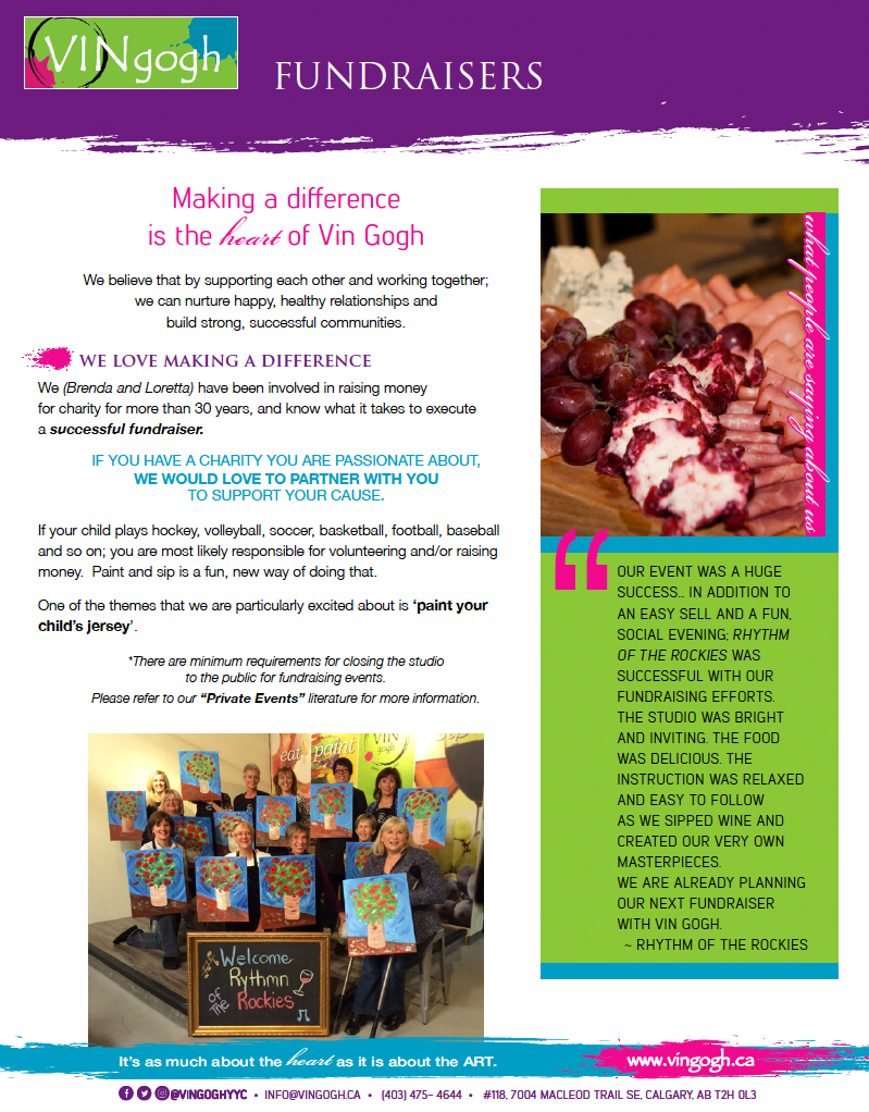 fundraising for charity making a difference is at our heart click the image to a copy of our fundraiser flyer pdf