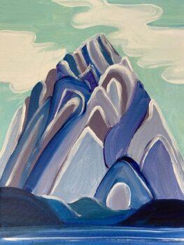 Harris Mountain by Rebecca